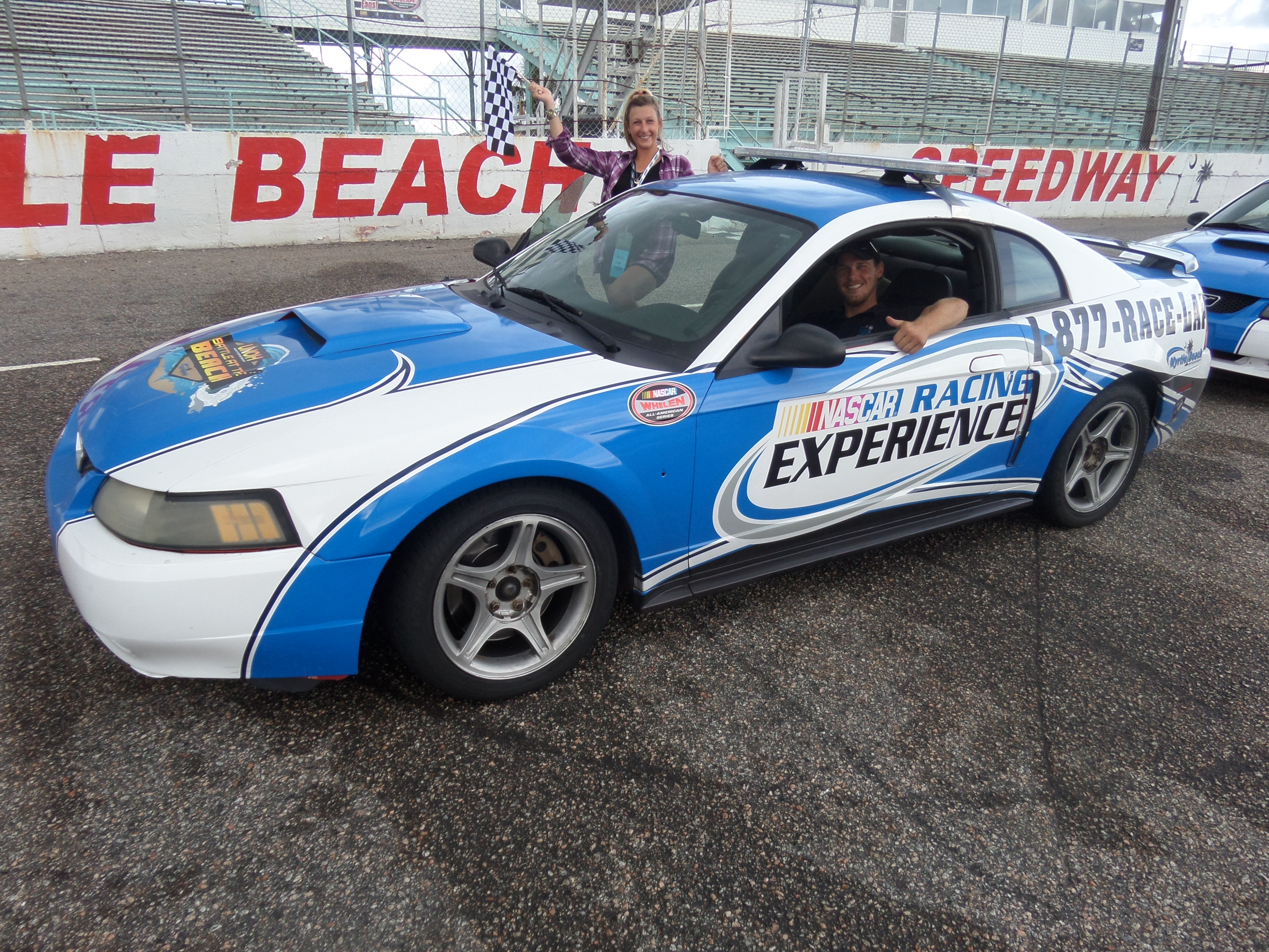 Myrtle Beach Speedway Nascar Racing Experience