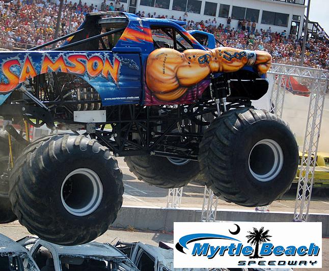 Monster Truck Beach Devastation 2020